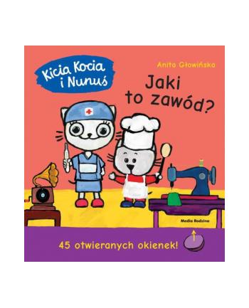 inni Książka Kicia Kocia i Nunuś. Jaki to zawód?
