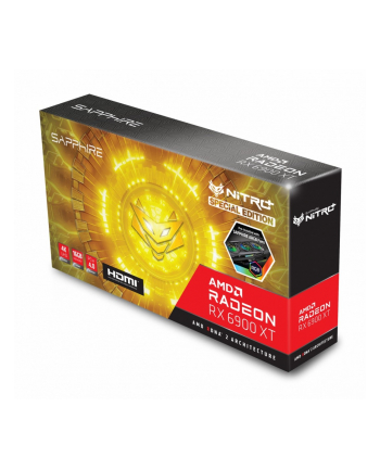 sapphire technology Karta graficzna RX 6900 XT NITRO+ SE 16GB 256bit GDDR6 3DP/HDMI