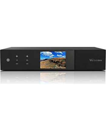 vu+ VU + Duo 4K SE, satellite / cable receiver (Kolor: CZARNY, DVB-S2X FBC twin tuner, DVB-C FBC tuner)