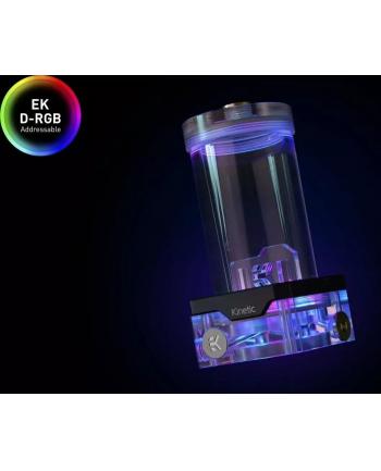EKWB EK-Quantum Kinetic TBE 160 DDC Body D-RGB - Plexi, expansion tank