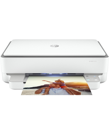 HP Envy 6020 All-in-One, multifunction printer(Kolor: BIAŁY / grey, USB, WLAN, scan, copy)