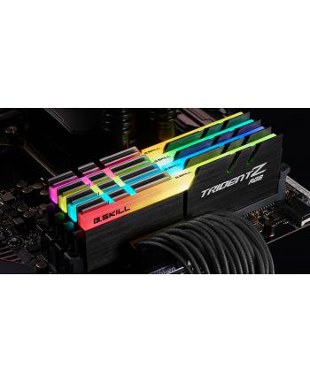 G.Skill DDR4 - 64 GB -3600 - CL - 14 - Quad-Kit, RAM (Kolor: CZARNY, F4-3600C14Q-64GTZR, Trident Z RGB)