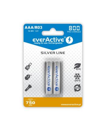 EVERACTIVE AKUMULATORKI AAA 800 MAH - 2 SZTUKI EVHRL03-800