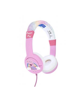 otl technologies Słuchawki dla dzieci Świnka Peppa tęczowe. Peppa Pig PP0776 OTL