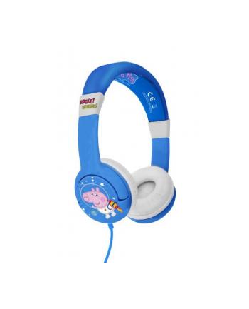 otl technologies Słuchawki dla dzieci Świnka Peppa Rocket George. Peppa Pig PP0777 OTL