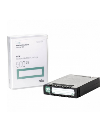 hewlett packard enterprise Kaseta z dyskiem RDX 500GB Q2042A