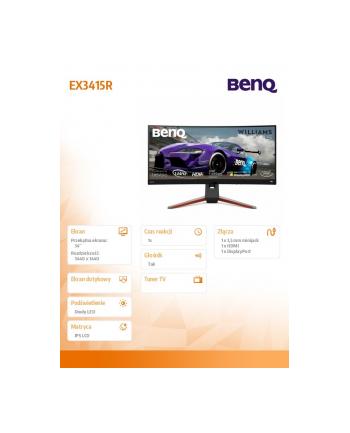 benq Monitor 34 EX3415R LED WQHD/IPS/1ms/144Hz/GL
