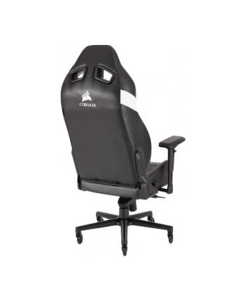 corsair Fotel T2 Road Warrior Gaming  czarny/biały