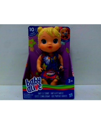 hasbro BABY ALIVE lalka blondynka z dźwiękami E3690 /2.
