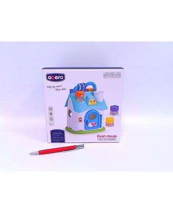 merk-pol Domek edukacyjny sorter n/b MPK08084 80841
