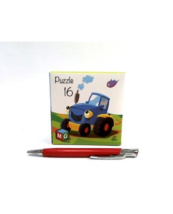 multigra Puzzle 16 elem. Traktor 05655