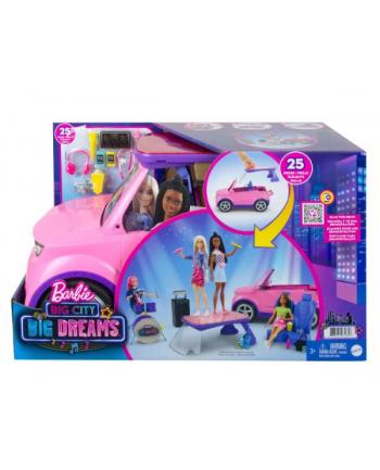 Barbie Big City Samochód - Koncertowa scena 2w1 GYJ25 p1 MATTEL