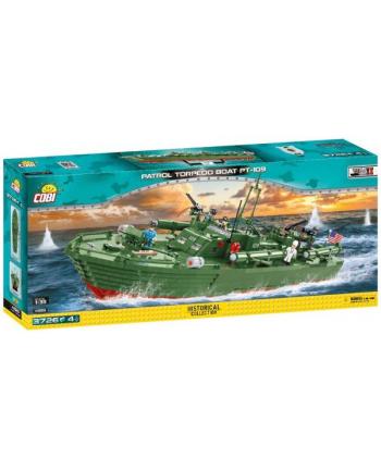 COBI 4825 Historical Collection WWII Patrol Torpedo Boat PT-109 3726 klocków p1