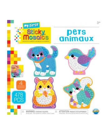 omega toys Wyklejanka dla najmłodszych. Zwierzątka 50931