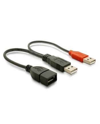 ''PRZEDŁUŻACZ USB 2.0 2xAM-AF (65306)''