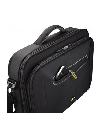 Torba Case Logic PNC218 Laptop Briefcase for 17-18''/ Nylon/ Black-Green/ For (48.0 x 5.0 x 34.5cm)