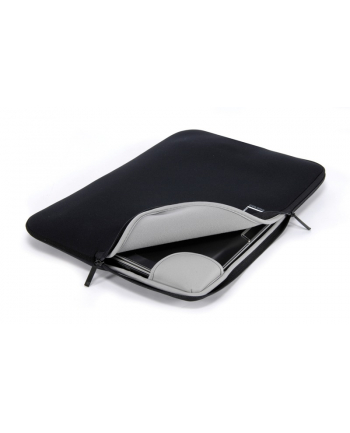 Tucano COLORE Laptop Sleeve for 10''/11.1'' (Black) / Neoprene