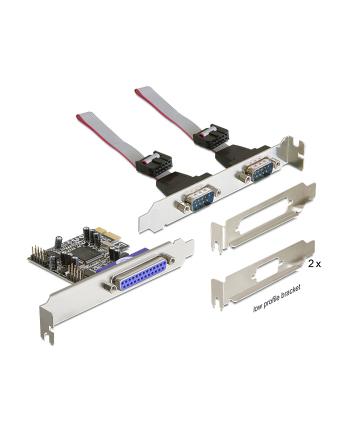 ''KARTA PCI EXPRESS->COM 9PIN X2 + LPT (DB25) DELOCK''
