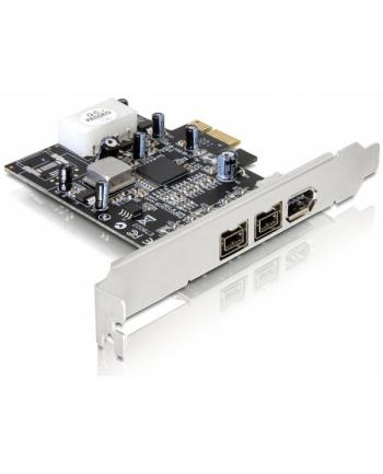 ''KARTA PCI EXPRESS->FIREWIRE 2X1394B+1394A DELOCK''