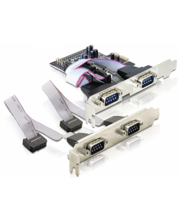 ''KARTA PCI EXPRESS->COM 9PIN X4 DELOCK''