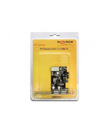 ''KARTA PCI EXPRESS->USB 3.0 2-PORT DELOCK''