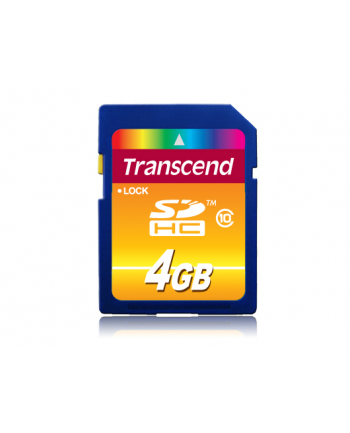 SecureDigital/4GB SDHC Class 10