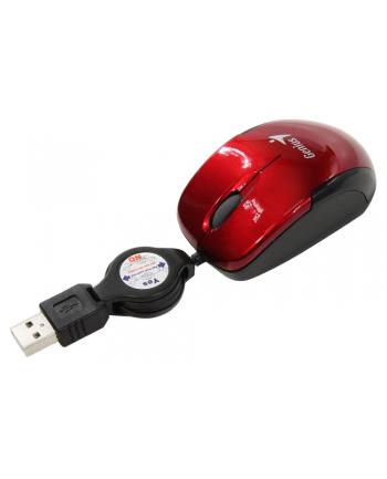 GENIUS mysz MicroTraveler, red, USB