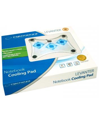 Podstawka chłodząca ESPERANZA EA107 3xWENT podświetlana