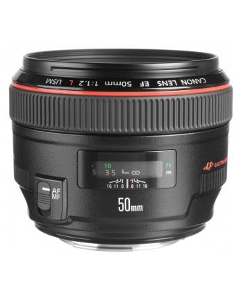 Canon EF 50mm f/1.2 L USM obiektyw