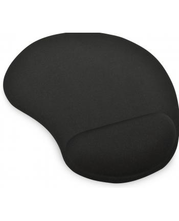 Podkładka pod mysz żelowa - czarna