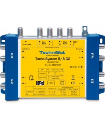 TechniSwitch 5/8 G multiswitch
