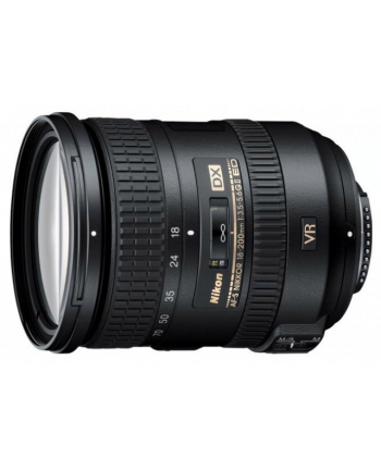 Obiektyw 18-200mm f/3.5-5.6 G IF -ED AF-S VRII DX fi 72mm