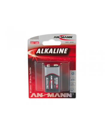 Bateria alkali RED 1xE-blok (LR9)