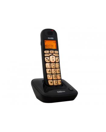 Telefon bezprzewodowy MaxCom MC6800 - DECT BB czarny