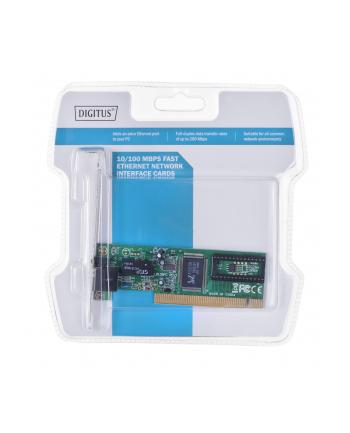 Karta sieciowa PCI 10/100 Mbps, 32-bit , Realtek 8139D