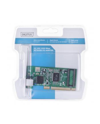 Karta sieciowa PCI Gigabit 10/100/1000 Mbps, 32-bit , Realtek