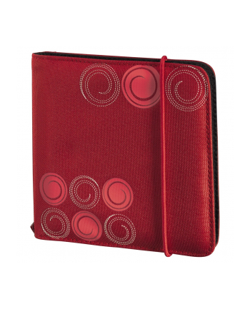 CD Wallet Slim 24 CD Czerwony Gumka