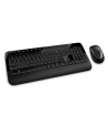 Klawiatura+mysz MICROSOFT Wireless Desktop 2000 PROTECTOR USB Black ( M7J-00015 ) - nr 19