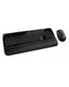 Klawiatura+mysz MICROSOFT Wireless Desktop 2000 PROTECTOR USB Black ( M7J-00015 ) - nr 3