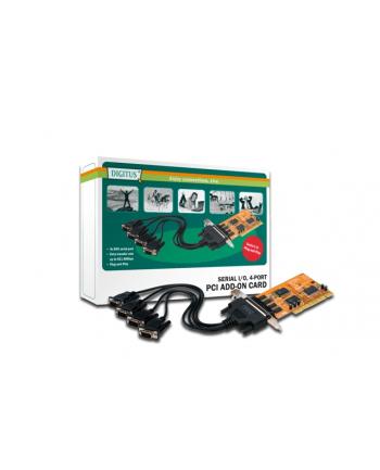 Kontroler PCI Karta 4xszeregowy (serial) DB9 COM RS232