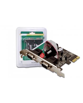 Kontroler PCI Express 2xserial DB9 COM RS232
