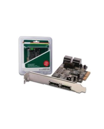 Kontroler PCI-Express wewn: 4xSATA II, zewn: 2xeSATA II