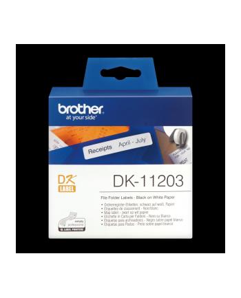 Etyk.papierowe DK11203 (17x87mm)300 szt.