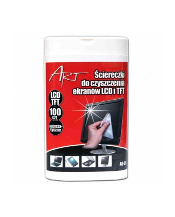 AS-01 ściereczki do ekranow LCD/TFT 100szt