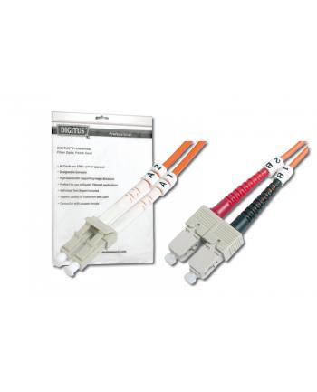 Patch cord światłowodowy FO MM 50/125 OM2 LC-SC 2m