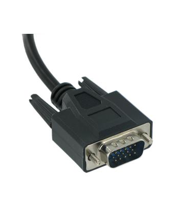 Kabel monitorowy D-SUB VGA M/M 1,8m retail