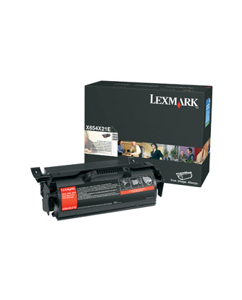 Toner/Black 36000sh High Yield X65x