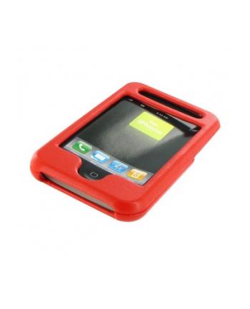 iPhone etui skorzane kolor czerwony