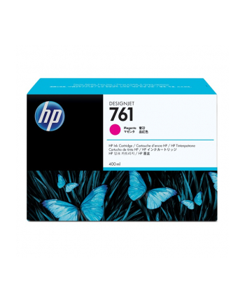 Wkład atramentowy HP No 761 Ink Cart/Magenta 400ml