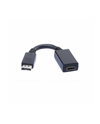 Adapter DisplayPORT/HDMI żenski 15cm OEM